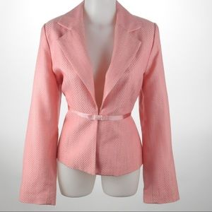 AGB - Pink Suite with Skirt - Size 10